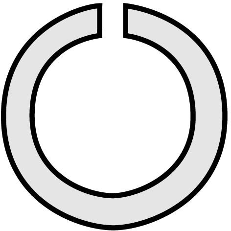 Tima Ringfeder stark, Steel, VE 5 Stk