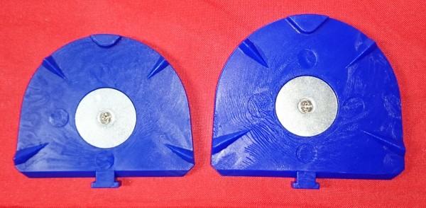 LUKABase Sockelplatten groß, blau 100 Stk