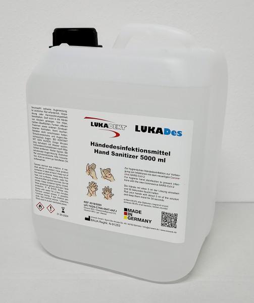 LUKADes Händedesinfektion 5000 ml (€ 11,80/L)