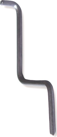Typ 6 Metallstift mit Nase Prämolar / 5 Stück