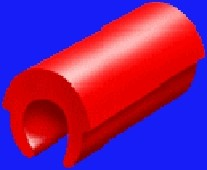 Universalreiter rot Matrize 6 Stk