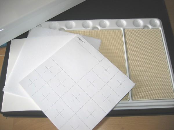 Simpliwet Papier bedruckt, 100 Blatt