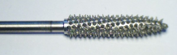 Karbidfräser Zylinder, dünn, 2,35 mm Schaft