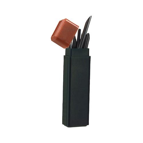 Graphitmine, schwarz - 6 Stück
