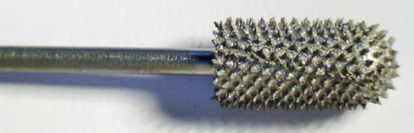 Karbidfräser Zylinder, abgerundet, 2,35 mm Schaft