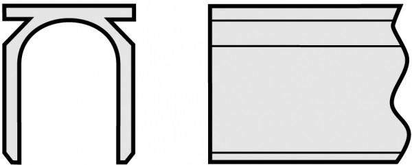 Micro Hülse, 50 mm, Ti Grad 4