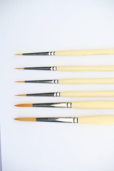 Keramikpinsel golden Synthetic