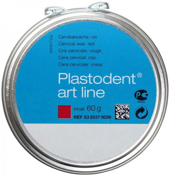 Plastodent Art-Line Cervicalwachs, rot, 60